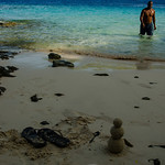 Alex and sand man on Enemat