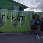 Sit and Eat. Of the two restaurants on Ebeye, this is the only one that was ever open when we wanted to eat.